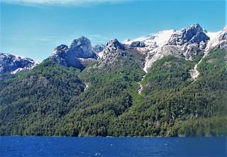 Lago Nahuel Huapi,cordillera andes,patagonia Argentina !!