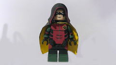 Custom LEGO DC: Robin (Caruana Customs) Tags: batman robin batfamily dc custom lego minifigure damian wayne