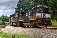 NS 223 (Steve Hardin) Tags: engine locomotive emd sd70m2 norfolksouthern railway railroad railfan intermodal train seney georgia