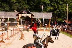 Queen's Joust, Week 6- Sunday (Pahz) Tags: thejousters jousters jousting knight jouster encranche horse squire shield armor plumage joust lance fullplatejoust helm joustgames brf2018 pattysmithbrf bristolrenaissancefaire renfaire renfest renaissancefairephotographer nikond7200 tamron16300mm