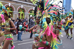 DSC_8322 (photographer695) Tags: notting hill caribbean carnival london exotic colourful costume girls dancing showgirl performers aug 27 2018 stunning ladies