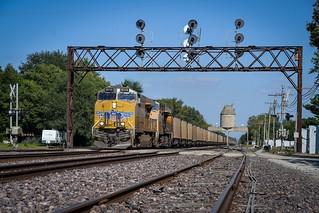 UP 8114 - Nelson, Illinois