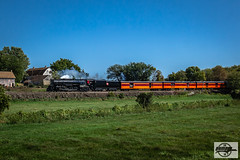 Westbound TCWR-MILW 261 2018 AAPRCO Convention Special Passenger Train at Bongards, MN (Mo-Pump) Tags: train railroad railfan railroader railway railroading railroads locomotive