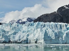 Margerie's Face: Glacier Bay, AK (John.Johnson.15) Tags: glacier bay alaska bartlet cove nps national park canada margerie lamplaugh blue ice iceberg fairweather range mountains turquoise snow gull john hopkins peaks cooper clouds water ocean reflections