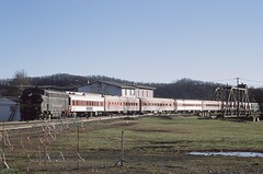 Polar Express Full Consit @Elkins WV (el825) Tags: elkins 2017 christmas museum westvirginia westvirginiacentral gm gmd emd fp7 clinchfield canadianpacific polarexpress