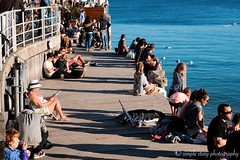 - shadows of people at the beach - (Simple Story ★彡) Tags: streetphotography shadows coastal explore travel people holiday manly beach