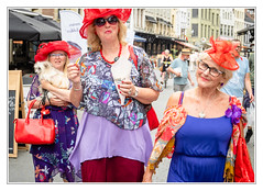 Red hat old girls gang (sdc_foto) Tags: sdcfoto street streetphotography color pentax k1 antwerp women red hats lucky