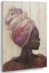 Bellissimo quadro, un volto di donna dipinto su legno. Se avete voglia di mettere in casa un quadro decorativo particolare e sfizioso questo è quello che ci vuole. (Mondo Arredamento) Tags: quadro decoro murale arredo accessorio