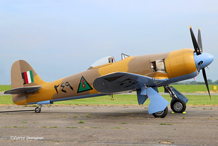 OO-ISS Private  Hawker Sea Fury FB.10