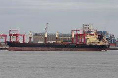 Strofi (das boot 160) Tags: strofi bulker ships sea ship river rivermersey port docks docking dock boats boat mersey merseyshipping maritime