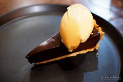20180905-22-Valrhona and speculoos chocolate tart with grand marnier gelato at Fico in Hobart (Roger T Wong) Tags: 2018 australia fico hobart iv metabones rogertwong sigma50macro sigma50mmf28exdgmacro smartadapter sonya7iii sonyalpha7iii sonyilce7m3 tasmania valrhona chocolat food grandmarnier restaurant tart