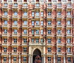 If Walls Could Talk (DobingDesign) Tags: listedbuilding historiclondon london resi residential windows pattern repeatingpattern repetitive storeys history gothicarchitecture oldarchitecture oldlondon victorian victorianarchitecture redbrick masonry stonework glass 1895 balcony grosvenorestate westminster
