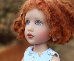 Sewing for Olivia Kish... (dambuster01) Tags: olivia helenkish primavera plastic vinyl jointed doll sewing posing