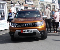 A Long Way From Home. (occama) Tags: nmn223h iom isle man number plate 2018 high highest car cornwall uk dacia alongwayfromhome