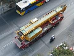 Liebherr mobile crane (skumroffe) Tags: liebherr ltm mobilecrane mobilkran autogru gruamovil gruemobile autokran thessaloniki greece grekland hellas ellada egnatia