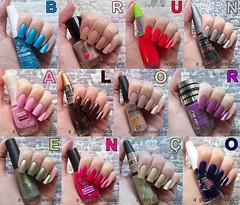 DESAFIO MEU NOME É… por A Garota Esmaltada (Resumo) (A Garota Esmaltada) Tags: agarotaesmaltada unhas esmaltes nails nailpolish manicure desafio desafiomeunomeé