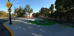 Portland's New Bicycle Traffic Circle (tadnkat) Tags: bicycle lane traffic infrastructure circle