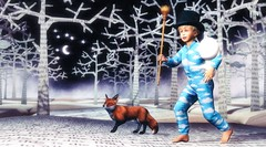 The destiny of the world is determined by the stories it loves and believes in. (Skippy Beresford) Tags: boy child children childhood kids picturebook story stories adventure excitement storyteller friendship exploration journey play light love