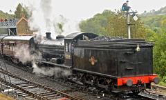 SEVERN VALLEY RAILWAY AUTUMN GALA (chris .p) Tags: nikon d610 steam svr railway severnvalleyrailway autumn gala capture highley shropshire uk september england