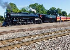 The Milwaukee Road 261's Special 25th Anniversary Excursion. (JBDPICS1) Tags: milwaukeeroad minneapolisminnesota railroad train