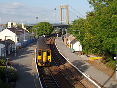150238 Saltash (2) (Marky7890) Tags: gwr 150238 class150 sprinter 2g75 saltash railway cornwall cornishmainline train