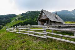 Prokoško Lake, Bosnia and Herzegovina (HimzoIsić) Tags: landscape mountain mountainside mountaineering village countryside rural hill place travel grassland grass green house outdoor nature