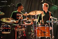 """""""Drums"""" team (Patrick ARFI) Tags: music blues concert live guitarensave ceux qui marchent debout drums"""