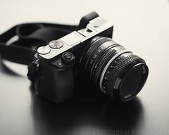 Classic Setup ~ Sony A6000, Lens Turbo II, Nikon 50mm f/2 Ai (Christopher Mark Perez) Tags: oldlens sonya6000 nikon50mmf2ai bw blackandwhite monochrome