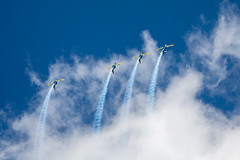 _Z2A9585 (Fabiosantos25) Tags: esquadrilhadafumaça esquadrilha 5dmkiv ef100400isii ef100400mmisii ef100400ii 7desetembro setedesetembro independencia smokesquadron supertucano avião plane sky blue azul brasil brazil