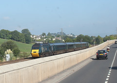 Mini HST . (AndrewHA's) Tags: devon newton abbot railway train class 43 first great western hst intrrcity 125 passenger service 2c45 exeter penzance