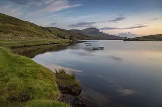 Sunrise at Loch Fada