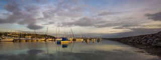 Panoramic harbour
