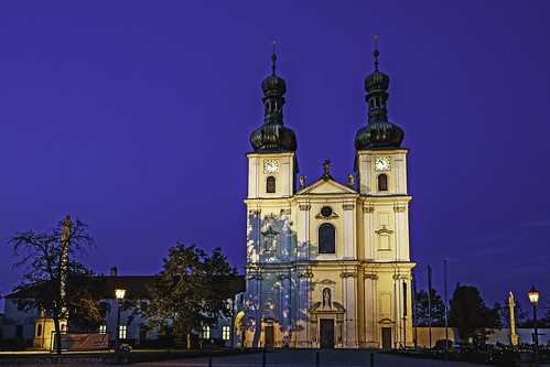 The Basilica of the Nativity of Mary in Frauenkirchen