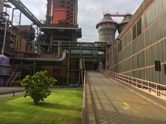 Thyssenkrupp Steel in Duisburg (clemensgilles) Tags: green iphone stahlwerk steel industrie industry duisburg nrw