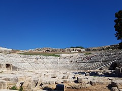 Teatro Grego - Siracusa Parco Archeologico della Neapolis (Antónia Lobato) Tags: parco archeologico neapolis teatro grego siracusa italia italy itália