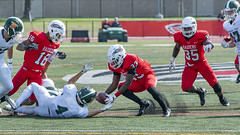 I will hold this for you... (acase1968) Tags: sou football kenny haney southern oregon university raiders montana tech orediggers ashland nikon d500 nikkor 70200mm frontier conference f4g