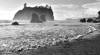 Ruby Beach, Forks area, Washington State