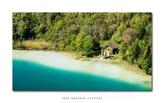 Paradise (Anne-Françoise LAURANS) Tags: jura lac forêt nikon sigma paysage cabane