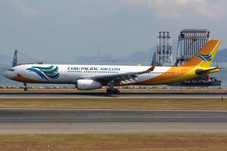 Cebu Pacific | Airbus A330-300 | RP-C3343 | Hong Kong International