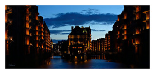 Hamburg - at nightfall