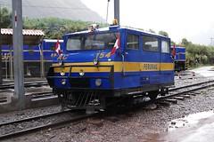 Diesel railcar train AC 154 PeruRail Valle Sagrado Peru 2018 (roli_b) Tags: railcar rail car train tren coche lok locomotive maintenace service ac154 ac 154 ac154perurailrailrailwayvallesagradovalle sagrado 2018 viajar reisen bahn bahnreisen perurail railway wickham ware wickhamofware diesel trolley