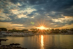 sunset on the beach (harakis picture) Tags: sunset fance paca antibes sony a7 greatshotss contactgroups