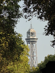 Tower of Teleférico del Puerto (michael_s_pictures) Tags: teleféricodelpuerto tower barcelona toren cablecar funicular kabelbaan seilbahn