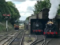 Bodmin shed (Flikrman Gaz) Tags: steam steamloco bodmin