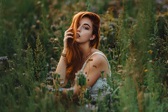 Susi (Daniel Mohn Photography) Tags: girl model red hair sony a7iii natural light portrait germany ginger