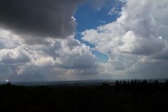 Crack the Sky (Ricardo Beelt) Tags: clouds sky outdoor outside landscape netherlands skyline view holland arnhem