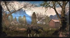 Morrigan's Mount (ᗷOOᑎᕮ ᗷᒪᗩᑎᑕO) Tags: sim sl secondlife morrigan flickr design designing beautiful painting old masters classic classical