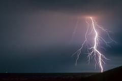 Lightning  near Lelystad, NL (mesocyclone70) Tags: lightning lightningbolt thunderstorm storm stormchase stormchasing holland netherlands kodachrome slide slidefilm