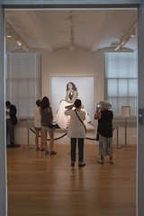 Viewing Michelle (Tim Brown's Pictures) Tags: washingtondc museum museums smithsonian smithsonianmuseum nationalportraitgallery visitors tourists washington dc unitedstates