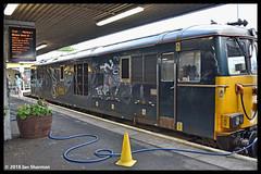 No 73967 16th July 2018 Fort William (Ian Sharman 1963) Tags: no 73967 16th july 2018 fort william class diesel engine railway rail railways train trains loco locomotive scottish scotrail scotland 73 gbrf great british railfreight caledonian sleeper london euston